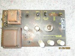Jukebox Ami Audio Frequency Amp Model Dd With Bottom Cover- Untested