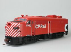 Rapido Ho Fa-2 With Dcc Sound Canadian Pacific Cp Action Red 4050