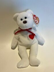 Ty Beanie Baby Valentino Rare Tag Errors 1993/1994 Mint Condition Brown Nose