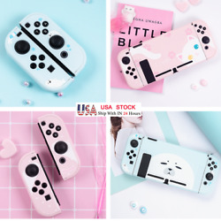 Cat Hard Case Protector Cover W Glass Film For Nintendo Switch Console Jon Cons