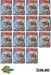 Sunline Fluorocarbon FC Sniper Fishing Line Pick Any Pound Test Size Spool $21.77