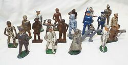 Lot Of 20 Old Antique Assorted Toy Soldiers Metal Lead Naval Army Nurse Doctor