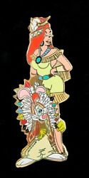 Disney Jessica And Roger Rabbit Dressed As Indians Thanksgiving Le 250 Pin New