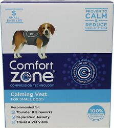 Comfort Zone Calming Vest for Dogs Small For Thunder and Anxiety amp; NEW OFFER $29.99