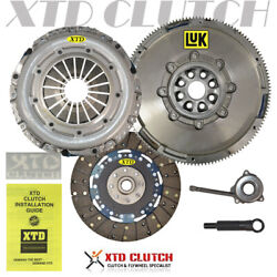 Hd Clutch And Luk Dual Mass Flywheel Kit A3 Beetle Cc Jetta Golf Gti 2.0l Turbo