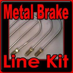 Brake Line Kit Cadillac 1961 1962 1963 1964 1965 1966 -replace Rusted Lines