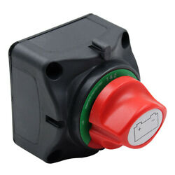 12v/24v Dual On-off Battery Selector Switch 3speed For Marine Rv Boat Motor