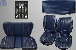 Seat Covers + Back Seat + Seat Belts, Zagab Special For Mercedes Sl R/w107