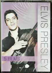 Elvis Presley 5 Movie Collection Dvd Blue Hawaii Fun In Acapulco + 3 Brand New