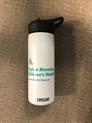 Manning Insulated Stainless Steel Water Bottle With Straw, Camelbak, 20 Oz Jet