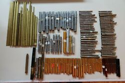 Huge Lot Of Bamboo And Other Fishing Rod Ferrules New And Used Condition 151 Pcs
