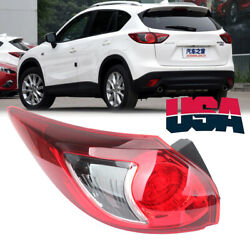 Left Tail Light Rear Lamp For Mazda Cx5 Cx-5 2013 2014 2015 2016 Brake Outer Us