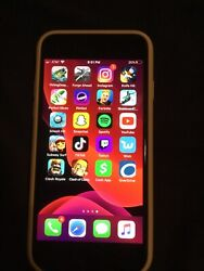 Apple Iphone 8 -64gb- Black With Fortnite And Many Other Apps Case Too Atandt