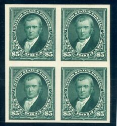 Us Scott 263p4 Block Of 4 Extremely Fine Proof Scv 2,500 Gary 8/31/20