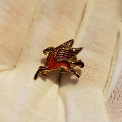 Mobil Gas And Oil Pegasus Enamel Pin/brooch Gas Co. Collectibles Animal Pinbacks