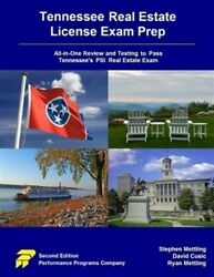 Tennessee Real Estate License Exam Prep All-in-one Review And Testing To Pa...