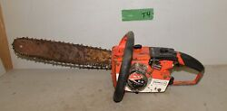 Homelite Super Ez Automatic Chainsaw Collectible Firewood Tool Logging Saw T4