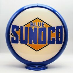 Sunoco Pre-1945 Style 13.5 Gas Pump Globe Ships Assembled Ready For Your Pump