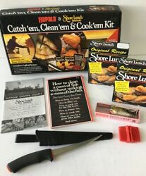 New Rapala Catch Clean And Cook Kit Fillet Knife Risto Rap Sharpener Book