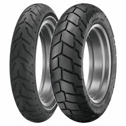 Tire Set Dunlop 140/75-17 D408f Hd + 180/70-16 D427 Hd