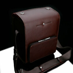 Camera Bag In Vintage Design Made Of Leather For System Cameras In Brown By Gari