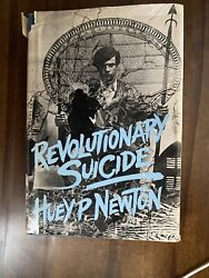 Revolutionary Suicide Huey P. Newton First Edition 1973 Hardcover Dust Jacket