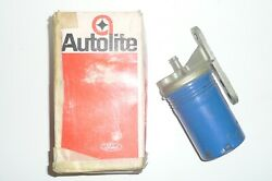 1962 62 Ford Merc Fairlane Galaxie Monterey Gas Fuel Filter Nos With Defects
