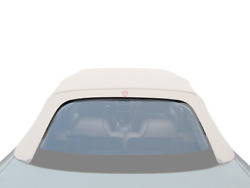 Fabric - Pvc Rear Window 1992-1998 Cover Panel Cabriolet, Grey For Rover 214/216