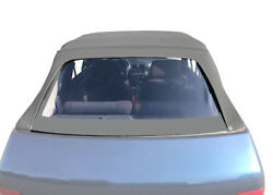 Pvc Rear Window In Sonnenland Cover Panel Cabrioletgrey For Peugeot 205