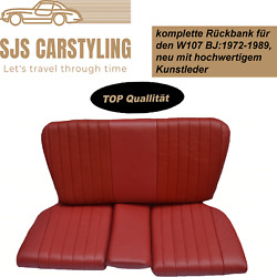 Back Seat Emergency Seats Child's Seat For Mercedes Sl+ R/w107, Medium-red Top