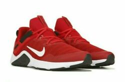 NIB MEN#x27;S NIKE CD0443 600 LEGEND ESSENTIAL TRAINING UNIVERSITY RED WHITE SHOES