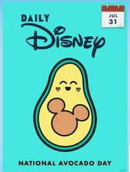 Digital Card Topps Daily Disney Collect July 31 National Avocado Day Digital