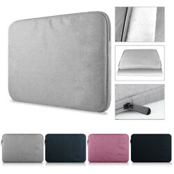 Polyester Notebook Case Laptop Bag Cover Sleeve For MacBook HP Dell Lenovo $12.98