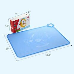 Waterproof BPA Free Silicone Baby Placemats Travel for Children Kids Toddler USA $5.39