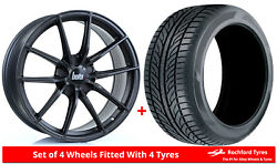 Alloy Wheels And Tyres 19 Bola Flc For Jaguar X-type 01-09
