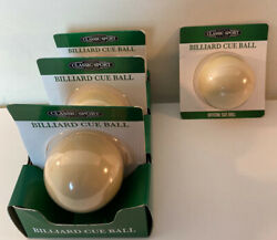 Lot Of 4 Classic Sport Billiard Cue Balls Official Size Ball New In Package