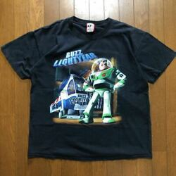 Vintage 90and039s Toy Story Buzz Lightyear T-shirt L Disney Made In Usa Fedex [k]