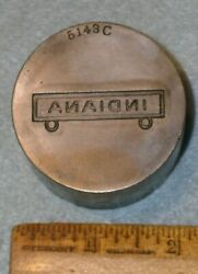 Indiana State Badge Clasp Steel Stamping Die Mc Lilley