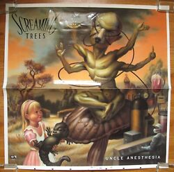 Screaming Trees Uncle Anesthesia 1991 Us Promo Poster Art Proof Slick Mark Ryden