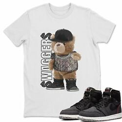Aj 1 Zoom Crater Sneaker Shirts- Bear Swagger Sneaker Matching Outfits