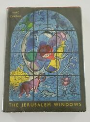 Marc Chagall Jean Leymarie And039the Jerusalem Windowsand039 1962 1st Ed And 2 Lithograths
