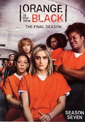 Orange Is the New Black: Complete Final Season 7 DVD 4 Disc Set Fast Shipping