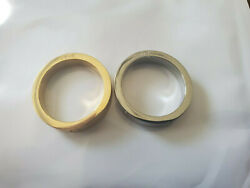 Gold and Siver Plated Premium High Quality Stainless Steel Love Rings. $13.99