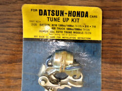 Intra World Imports Nos Tune Up Kit For Datsun And Honda Cars 1973 On 74 On Truck.