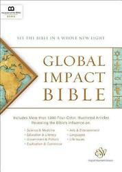 Global Impact Bible, Esv See The Bible In A Whole New Light By Museum Of The Bi