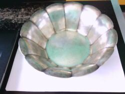 Nice Art Deco 1930's And Co. 12 Sided Sterling Silver Fruit Bowl. Buy Now