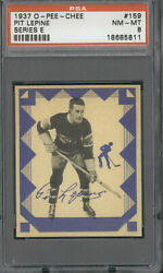 1937 O-pee-chee 159 Pit Lepine Psa Nm-mt 8 1 Of 1