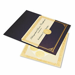 Geographics Paper Ivory/gold Foil Embossed Award Certificate 8-1/2 X 11 6/pk
