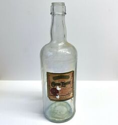 Vintage Smirnoff Display Bottle With With Cuervo Tequila Label Andbull Large 18andrdquo