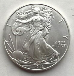 United States 2012 Liberty Dollar 1oz Silver Coin,unc